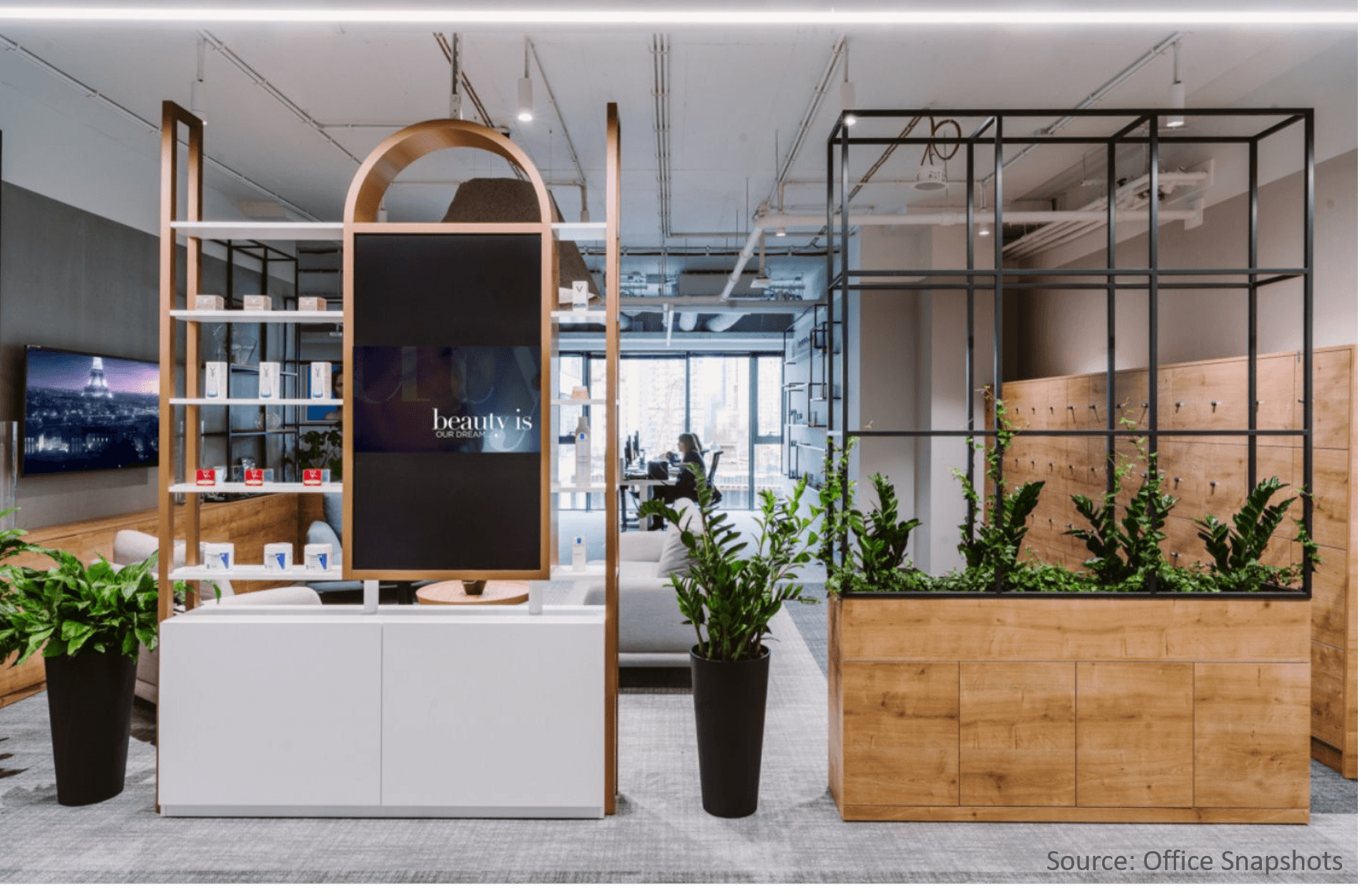 Modern-office-planter
