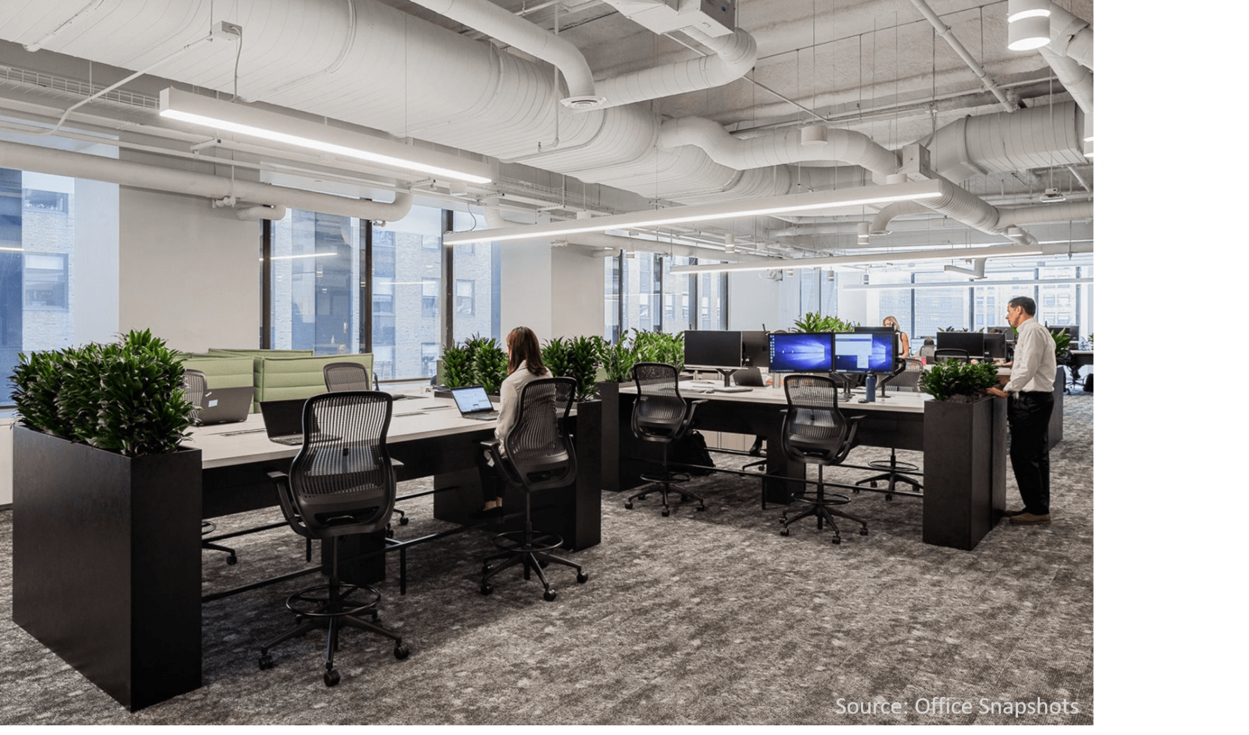 Tall-dark-office-planters
