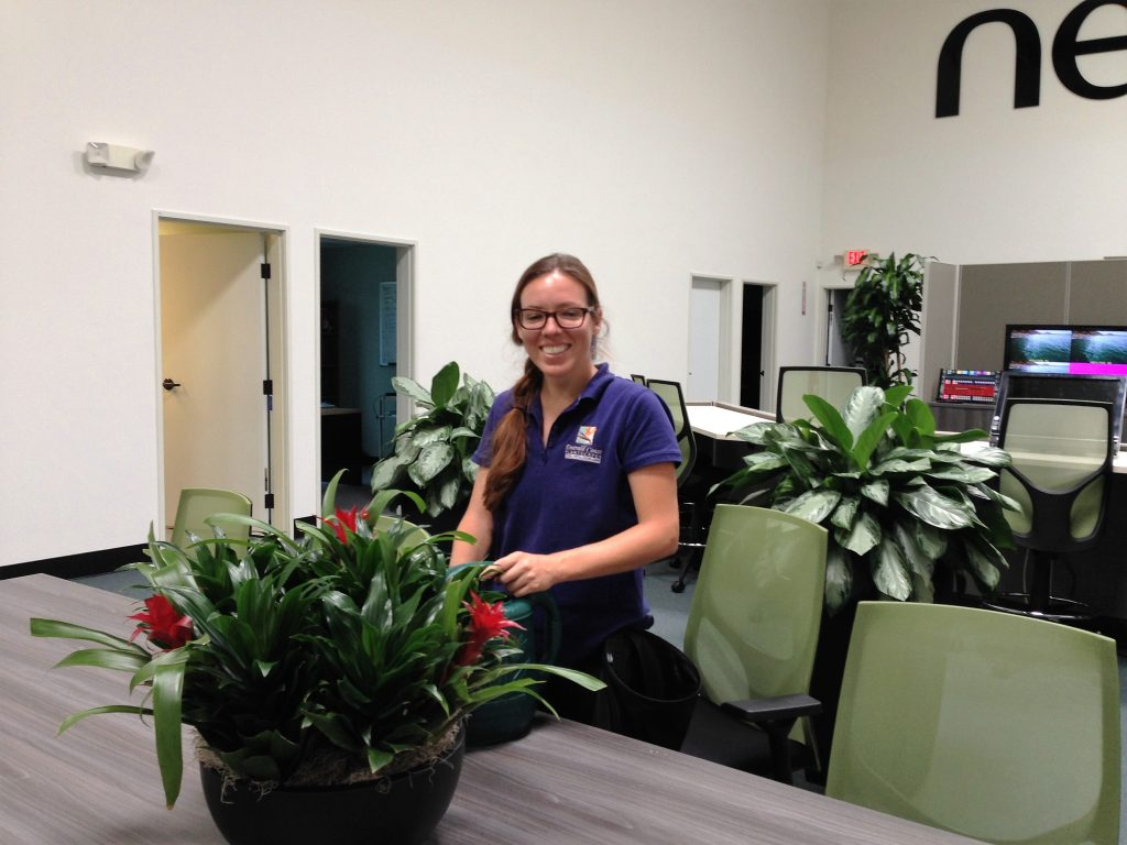 Lisa Interiorscape technician from Emerald Coast Plantscapes