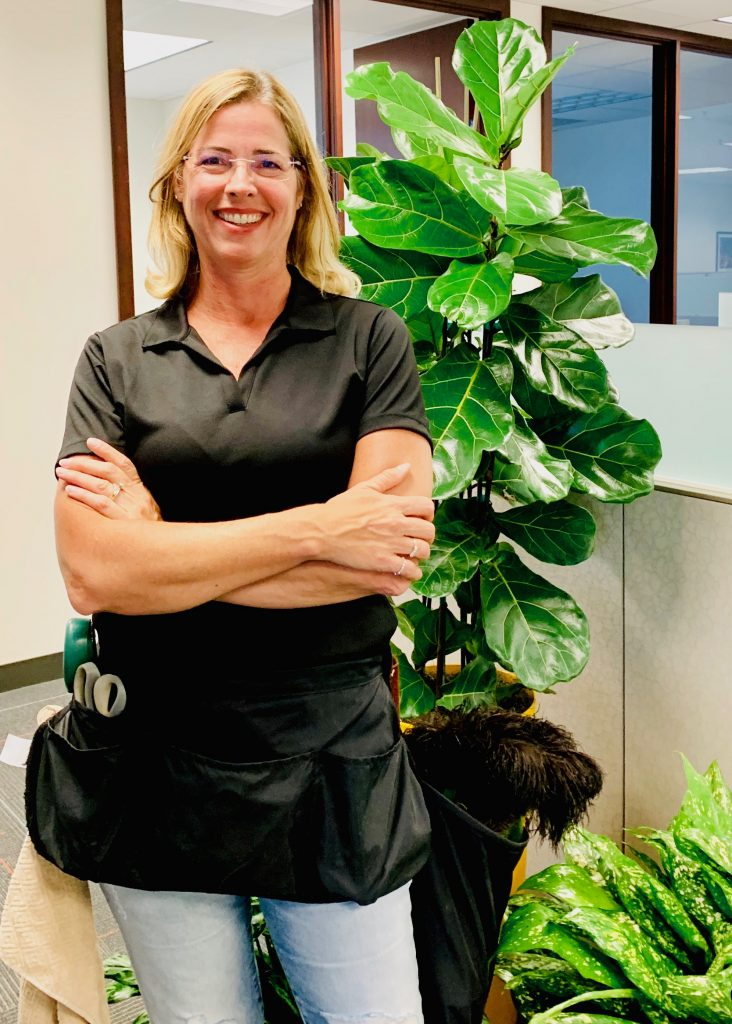Dana from Emerald Coast Plantscapes, Interiorscape company in Thousand Oaks, CA